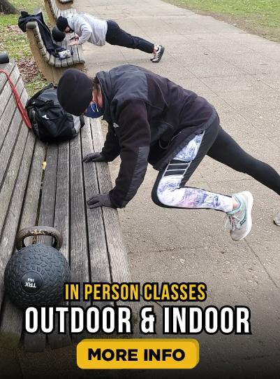 In Person Classes Outdoor & Indoor